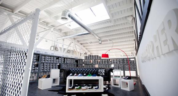 The Hundreds Santa Monica Sneaker Store
