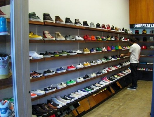 Undefeated Los Angeles Sneaker Store