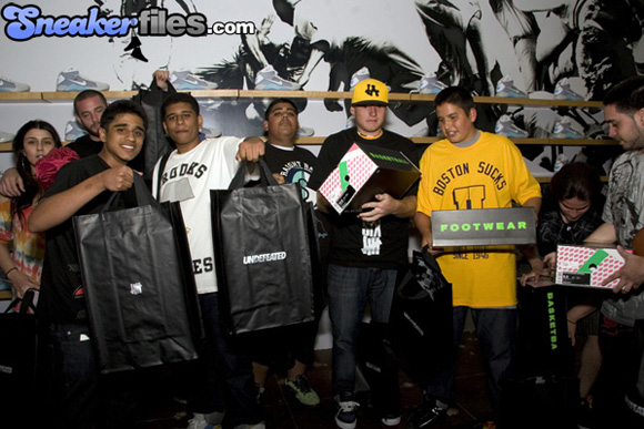 Undefeated Santa Monica Sneaker Store