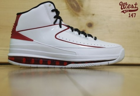 Air Jordan 2.0 White/Black-Varsity Red - Another Look
