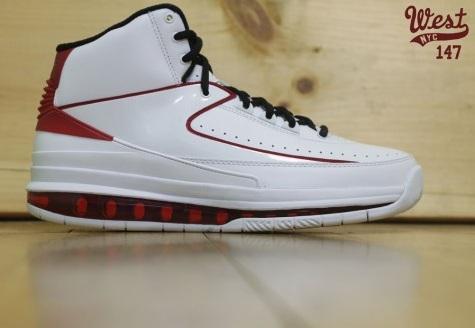 Air Jordan 2.0 White/Black-Varsity Red - Another Look