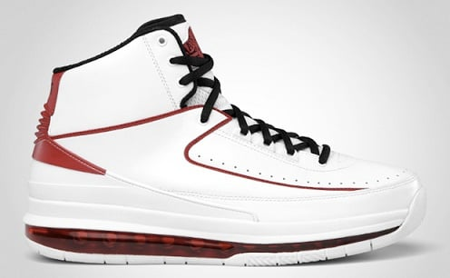 Air Jordan 2.0 White/Black-Varsity Red - Release Information