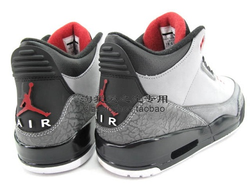 "Air Jordan Retro III (3) ""Stealth"" - More Images"