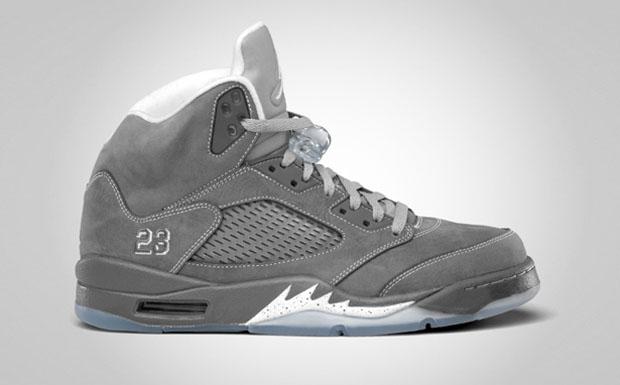"Air Jordan Retro V (5) ""Wolf Grey"" - Official Jordan Brand Images"