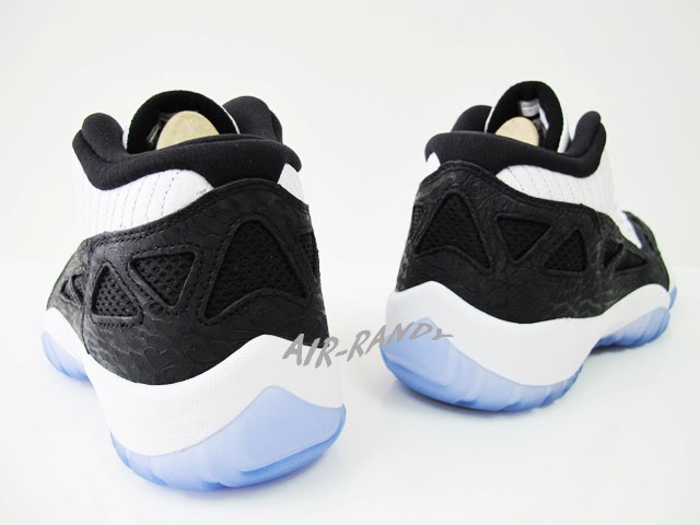 Air-Jordan-XI-11-Low-IE-Retro-White-Black-Metallic-Silver-New-Images-4