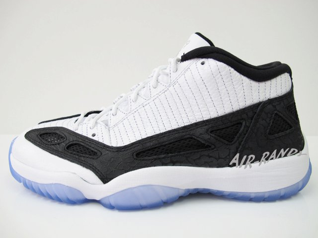 Air-Jordan-XI-11-Low-IE-Retro-White-Black-Metallic-Silver-New-Images-7