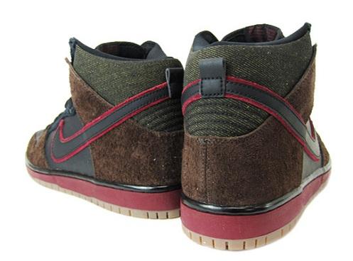 "Brooklyn Projects x Nike SB Dunk High ""Reign in Blood"""