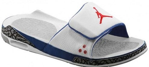"Jordan Retro 3 Slide ""True Blue"""