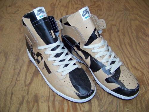 new concept f6d7b 1a598 The Nike SB x Geoff McFetridge Paper Dunk High ...