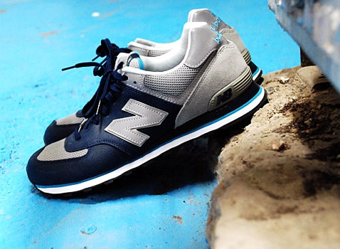 New Balance 574 - Navy/Grey