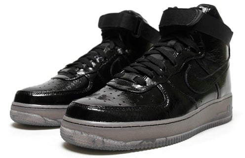 Nike Air Force 1 High - Black/Black-Grey