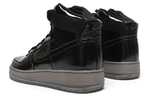 Nike Air Force 1 High - Black/Black-Grey