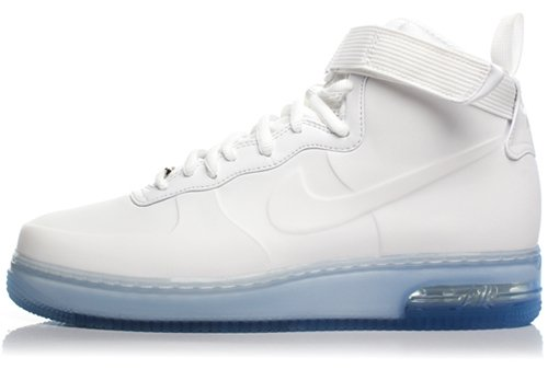 "Nike Air Force 1 High Foamposite ""White Out"" Release"