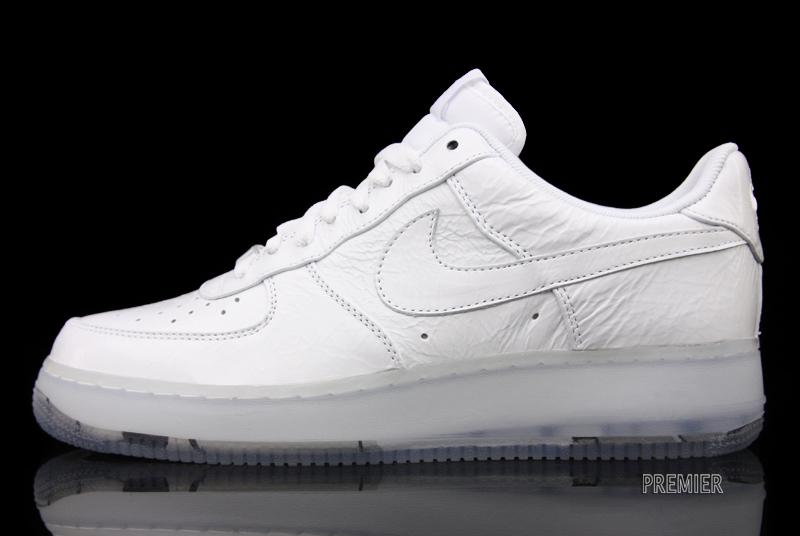 Nike Air Force 1 Low White Crinkled Patent - Available Now