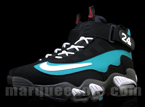 Nike Air Griffey Max 1 Black/Emerald-White - More Images