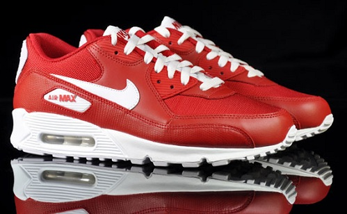 Nike Air Max 90 - Varsity Red/White
