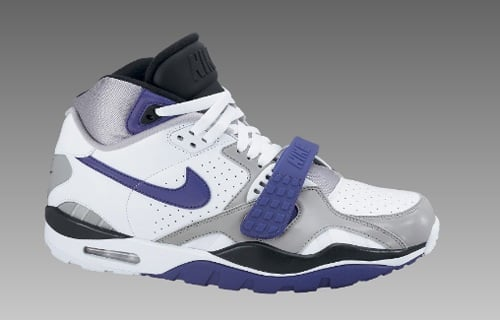 Nike Air Trainer SC II White/Club Purple-Medium Grey Available Now