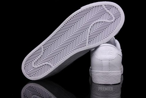 Nike All Court Low - White/White Perforated