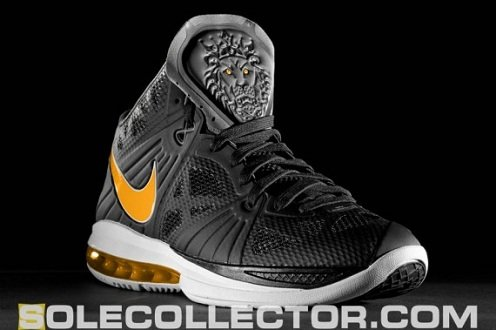 Nike LeBron 8 PS Black/Varsity Maize-White - Unreleased Sample