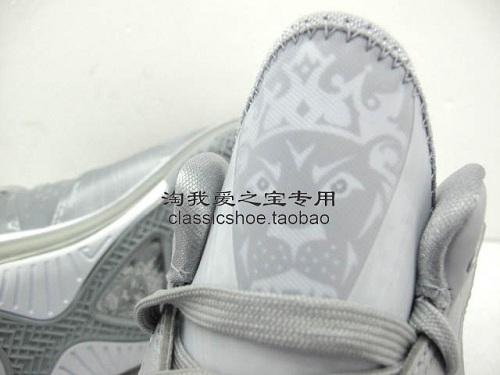 "Nike LeBron 8 V/2 Low ""Wolf Grey"" - New Images"