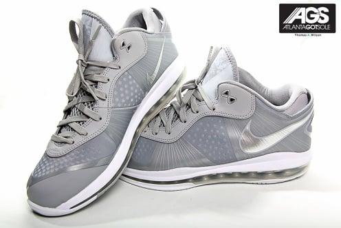 "Nike LeBron 8 V2 Low ""Wolf Grey"" - New Images"