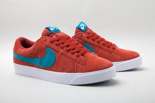 Nike SB Blazer Low - Tangy Teal/Terracotta