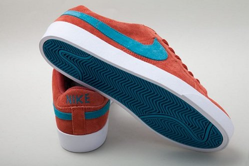 Nike SB Blazer Low - Tangy Teal/Terracotta