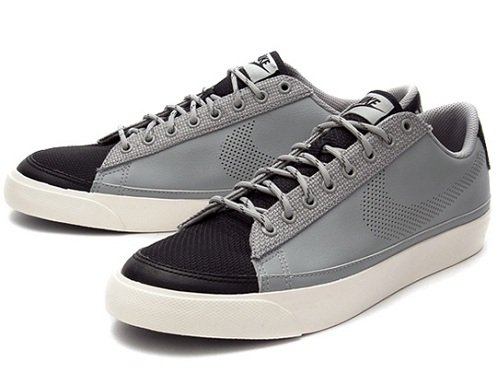 Nike Sportswear Blazer Low - Grey/Black/White