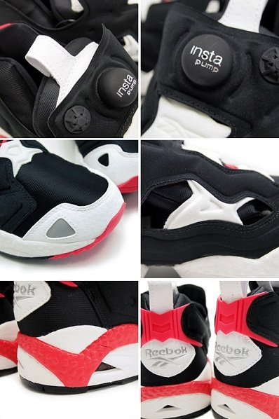 "Reebok Insta Pump Fury ""Infrared"""