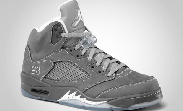 "Release Reminder: ""Wolf Grey"" Air Jordan Retro V (5)"