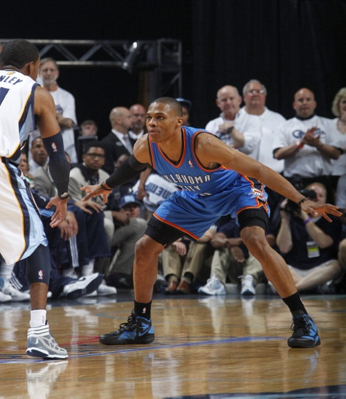 Russell Westbrook Leads OKC Thunder in New Nike Zoom Hyperfuse 2011