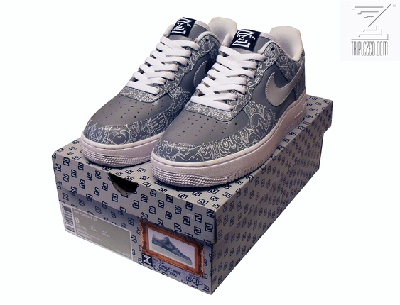 02c308d7b92a Custom sneaker artist TripleZed has ...
