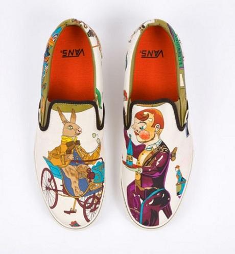 """Vans Slip-On - Custom """"Hermès Ties"""" Collection"""