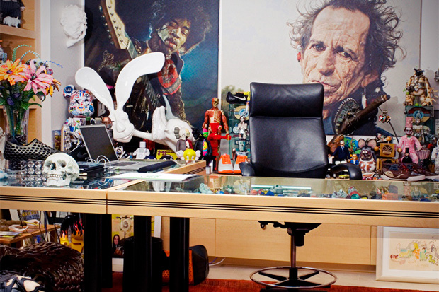 A Peak Inside Mark Parker's Office