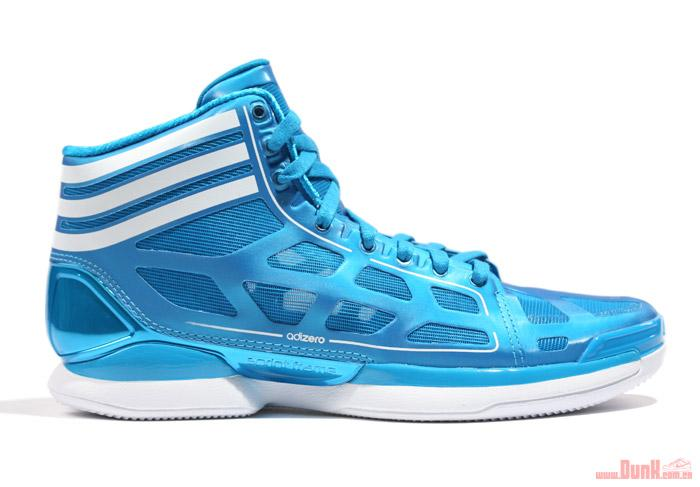 best adidas adiZero Crazy Light Sharp Blue White New Detailed Images ... 7049f55f1d