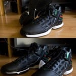 Adidas AdiZero Rose 2.0 Black Forest Green Red