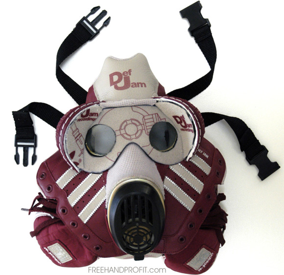 Adidas Def Jam Freehand Profit Shell Toe Gas Mask