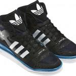 Adidas Originals Forum Mid Crazy Light Black White Indigo