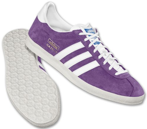 Adidas Originals Gazelle OG Royal Purple White-Chalk