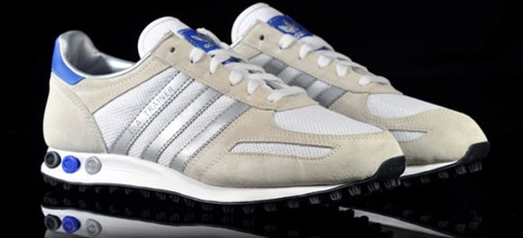 Adidas Originals LA Trainer Metallic Silver