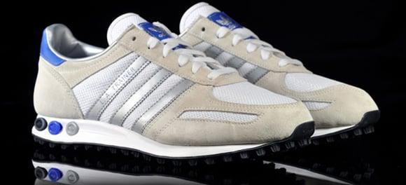 Adidas Originals LA Trainer Metallic Silver