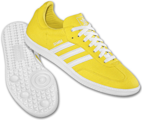 Adidas Originals Samba Fresh Lemon White