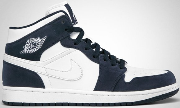 Air Jordan 1 Phat White White-Obsidian July 2011