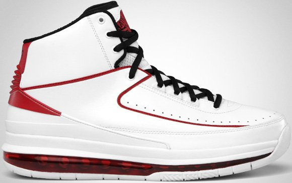 Air Jordan 2.0 White Black-Varsity Red Release Date Change