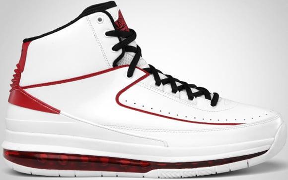 Air Jordan 2.0 White Black-Varsity Red Release Date Change