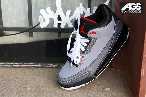 Air Jordan III (3) Retro 'Stealth' New Images SneakerFiles  SneakerFiles