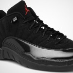 Air Jordan XII (12) Low Black Varsity Red Release Date