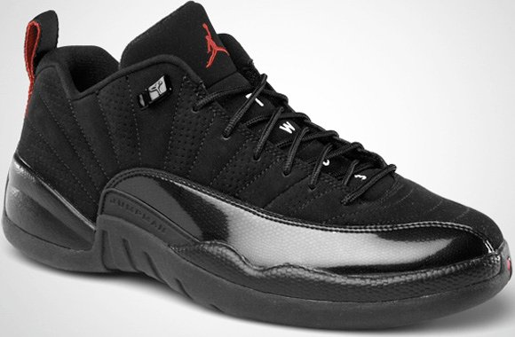 Air Jordan XII (12) Low Black/Varsity Red Release Date ...