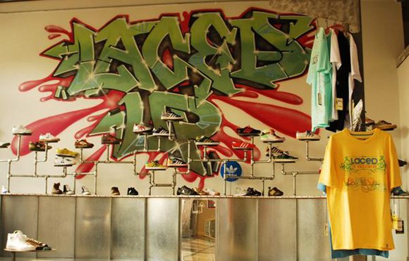 Laced Up Sneaker Store