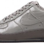 Nike Air Force 1 Low Premium Grey Crinkled Patent